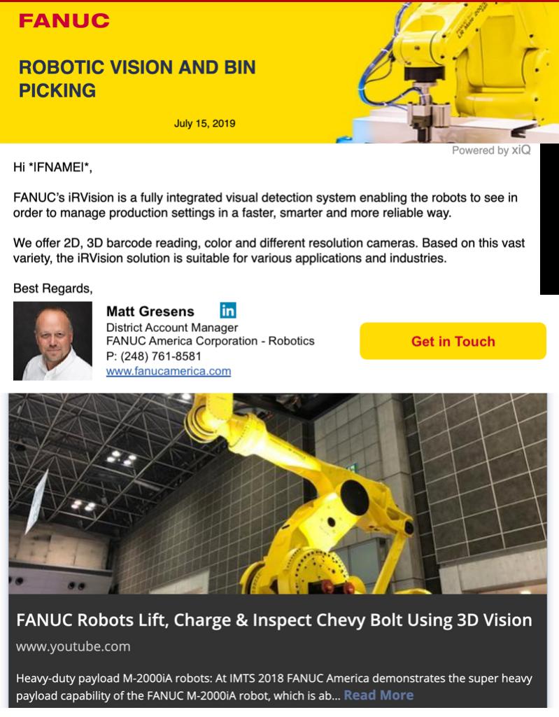 FANUC Campaign