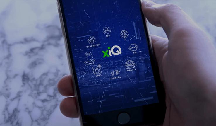 xiQ - AI-powered SaaS Platform for B2B Strategic Sales & Account-Based Marketing